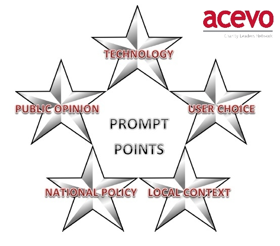 Prompt points w ACEVO logo